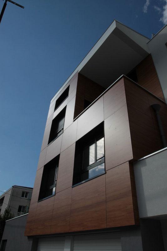 Villa des Lys à Grenoble : détail de l'architecture 02