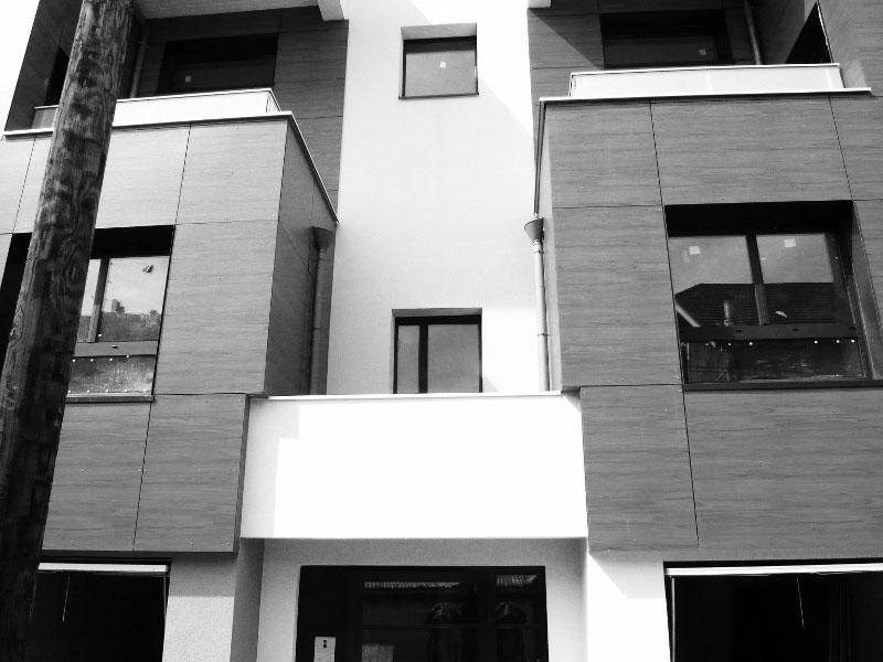 Villa des Lys à Grenoble : détail de l'architecture