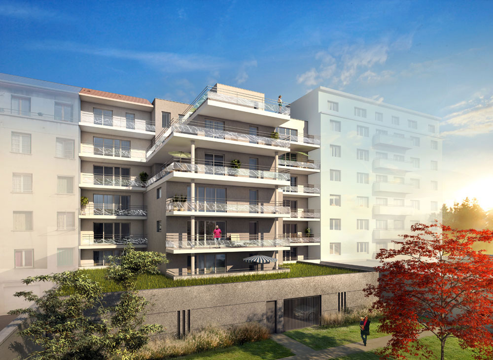 Villa Saint-Martin à Grenoble : vue d'architecte 01