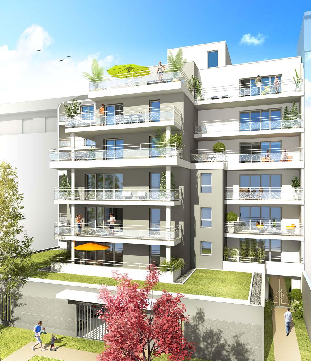 Villa Saint-Martin à Grenoble : vue d'architecte 02